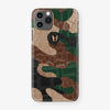 Alligator Case Camo iPhone 11 Pro Max | Woodland - Rose Gold