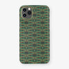 Monogram Case Le Marty | iPhone 11 Pro Max - Green - Yellow Gold