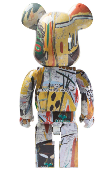 MEDICOM TOY BASQUIAT V2 1000% be@rbrick