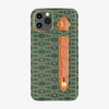 Monogram Finger Case Le Marty | iPhone 11 Pro Max - Green/Alligator Orange Sunset - Yellow Gold
