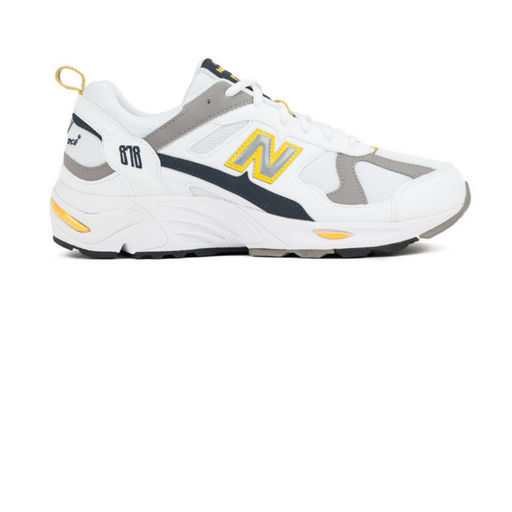 new balance cm878 tca white/yellow sneaker