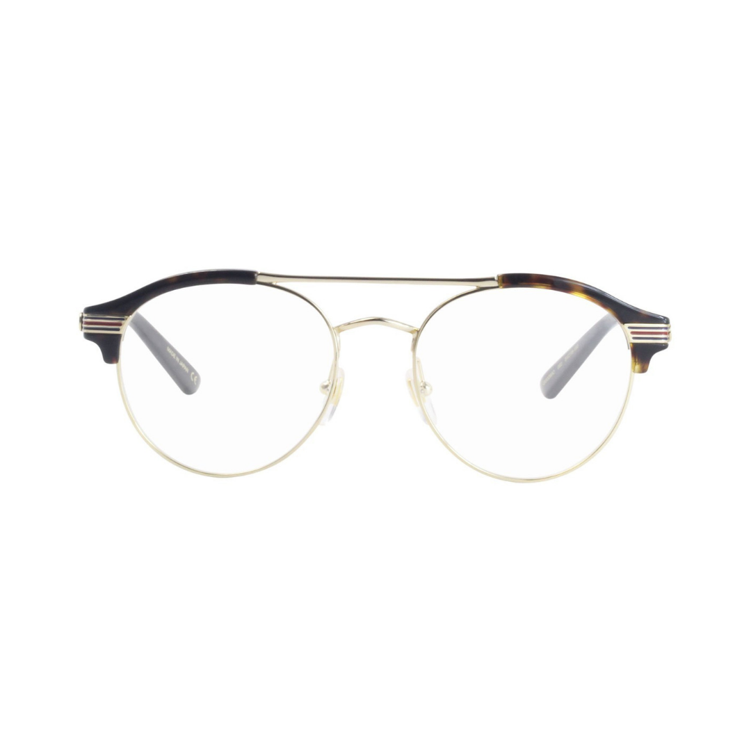 26976003c00 gucci gg0289o-002 tortoise and gold 51mm man metal glasses — nous