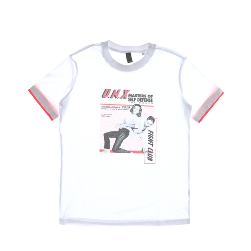 u.n.x fight club t-shirt