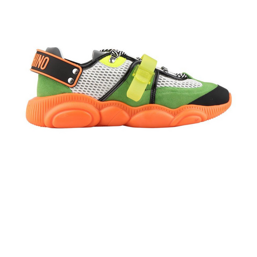 moschino sneakers teddy shoes - orange fluo sneaker