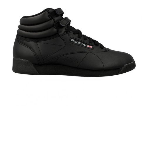 reebok wmns freestyle high black sneaker