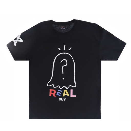 the real buy by trevor andrew real buy ghost t-shirt