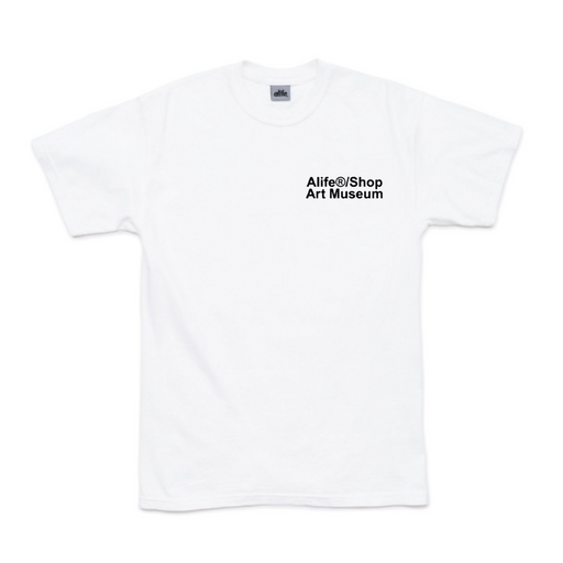 alife new york x adidas shop art museum t-shirt