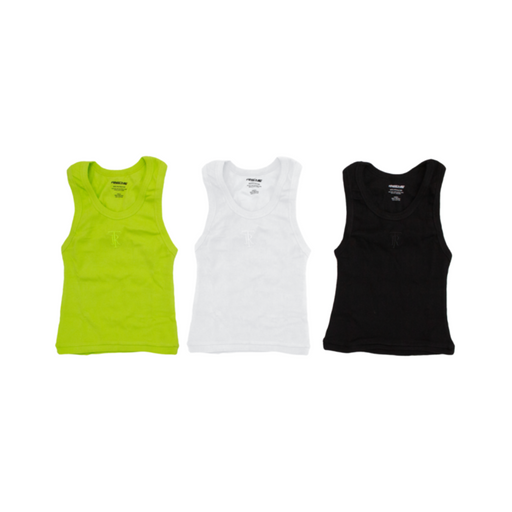 tres rasche cropped wife protector tank top