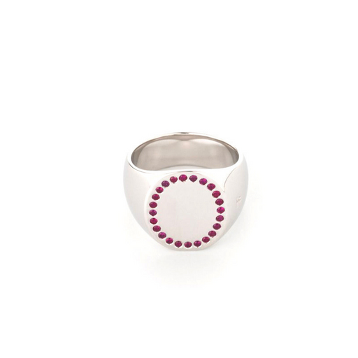 tom wood circle ruby ring