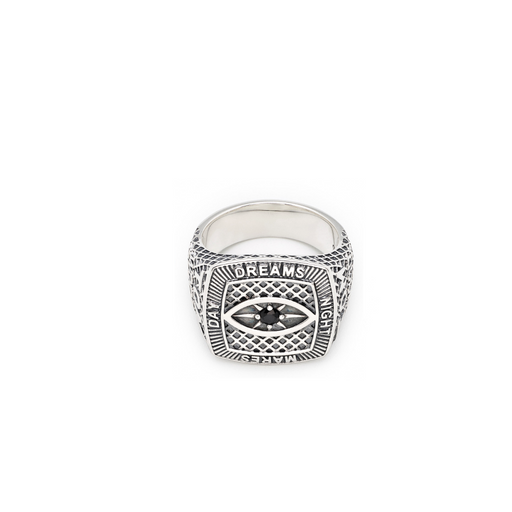tom wood champion black eye ring