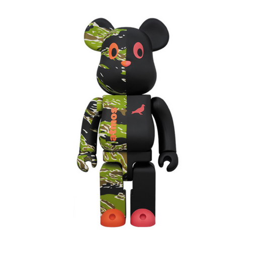 ATMOS x STAPLE x MEDICOM TOY 1000% BE@RBRICK V2
