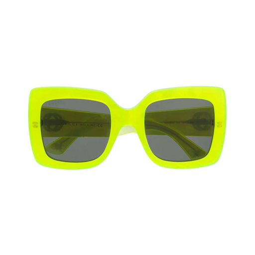gucci neon square sunglasses