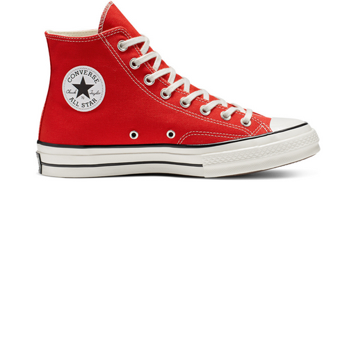 converse chuck 70 vintage canvas high top - enamel red sneaker