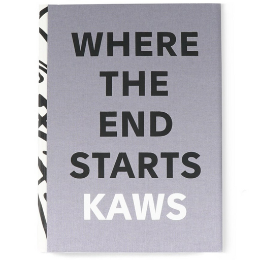 kaws - where the end starts book