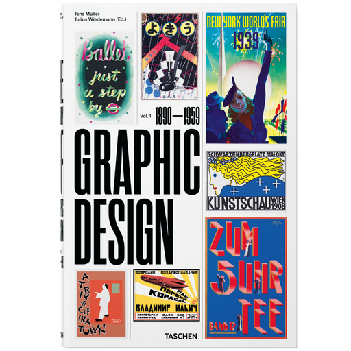 VA-HISTORY OF GRAPHIC DESIGN TASCHEN BOOK