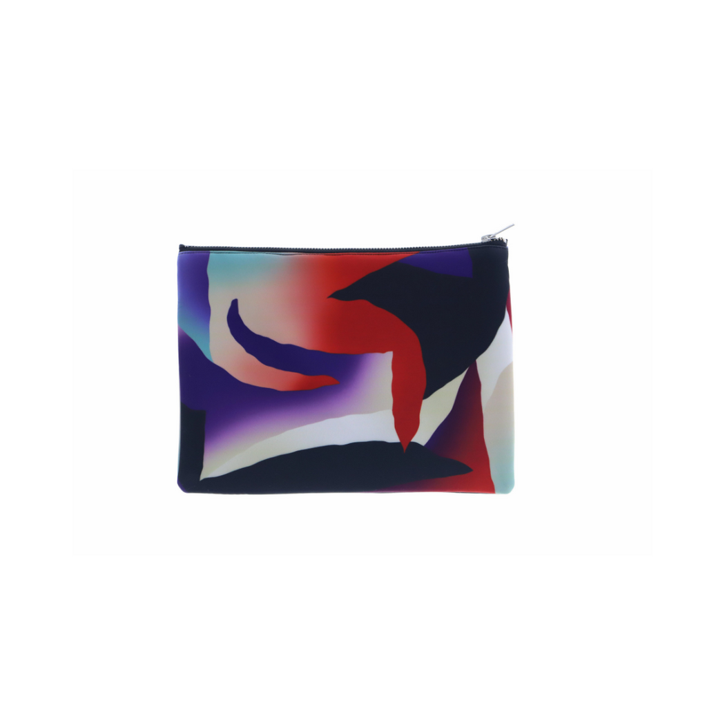 gambette x paom for nous neoprene clutch