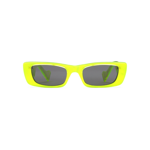 gucci neon square framed sunglasses