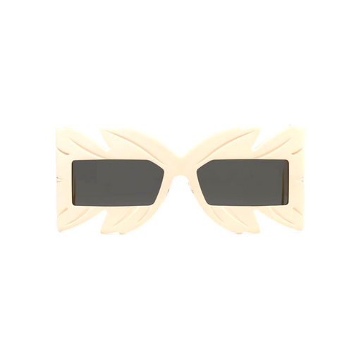 gucci mask acetate ivory sunglasses
