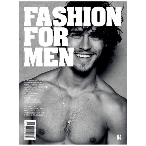 fashion for men magazine issue 04