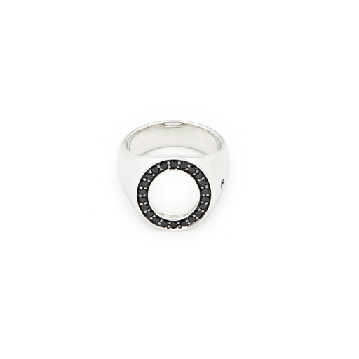 tom wood oval open spinel ring