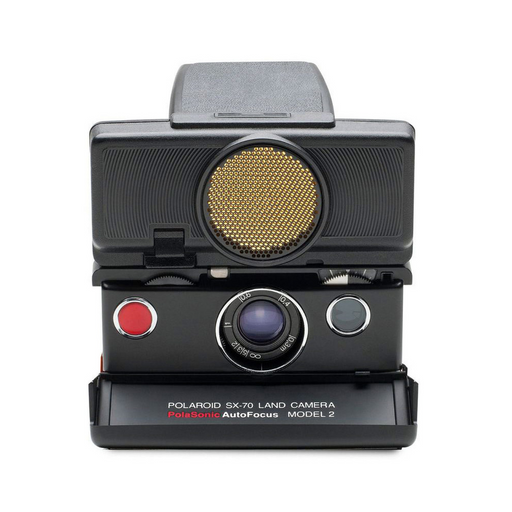 POLAROID SX-70 AUTOFOCUS - Black/Black camera