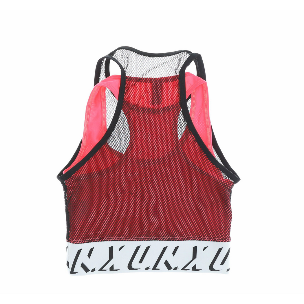 u.n.x active wear double dry punch tank top