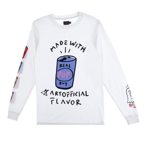 the real buy by trevor andrew artofficial long sleeve t-shirt