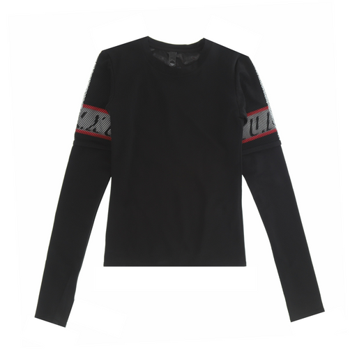 u.n.x hands off double top longsleeve t-shirt