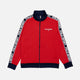 polo ralph lauren track red zip jacket