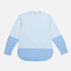 marni clear blue colour-block sweatshirt