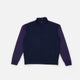missoni velour purple zip sweatshirt