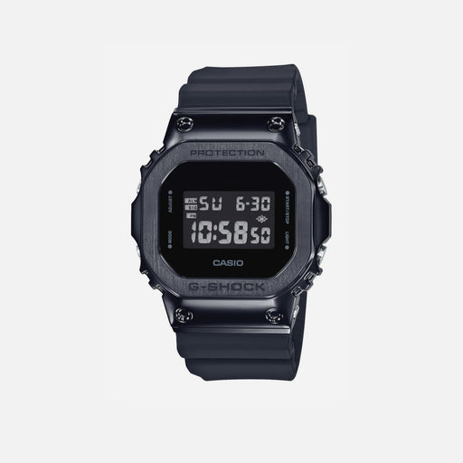 g-shock GM-5600B-1ER black steel watch
