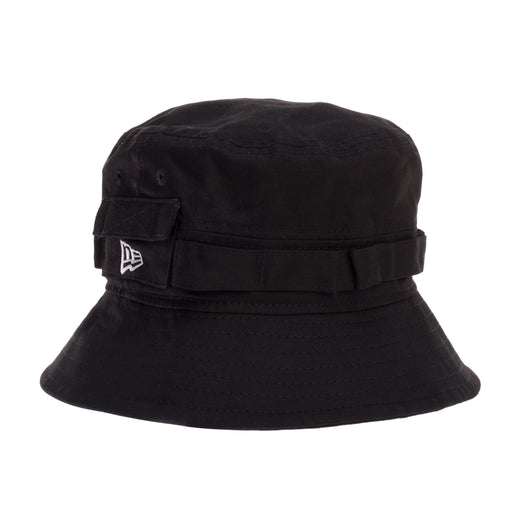 new era explorer balck  bucket hat