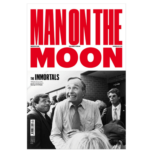 MAN ON THE MOON MAGAZINE ISSUE 4