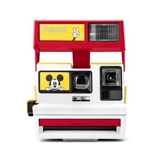 POLAROID 600 CAMERA MICKEY CAM