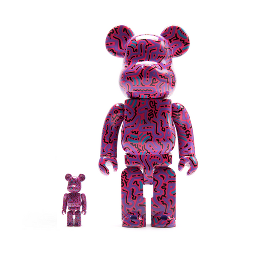 MEDICOM TOY KEITH HARING V2 400%+100% be@rbrick