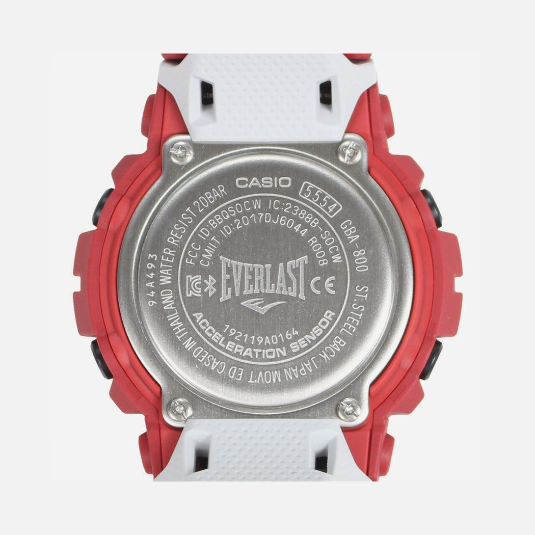 G-Shock x everlast GBA-800EL G-squad watch