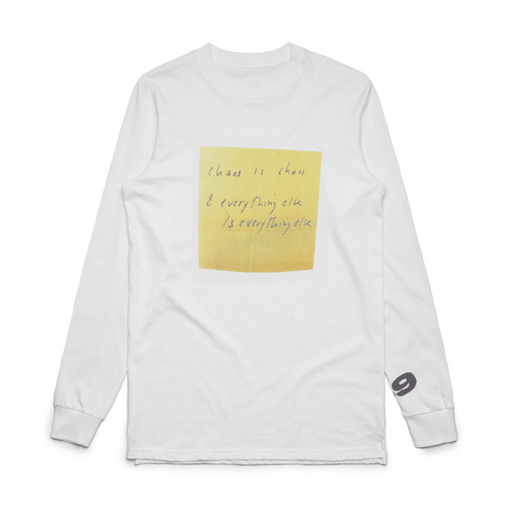 CHAOS POST IT LONG SLEEVED T-SHIRT
