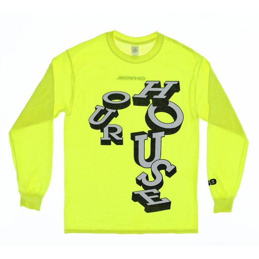 CHAOS OUR HOUSE LONG SLEEVED T-SHIRT