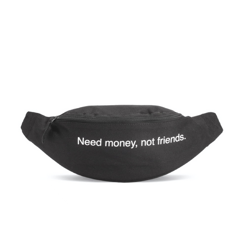 "FAMT WAIST BAG ""NEED MONEY"" - nous"