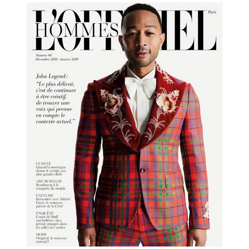 L'OFFICIEL HOMME MAGAZINE ISSUE 60
