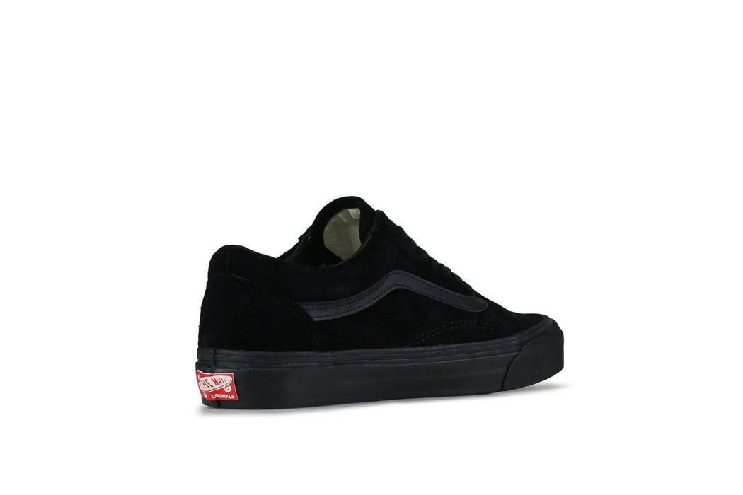 vans og old skool lx black sneaker