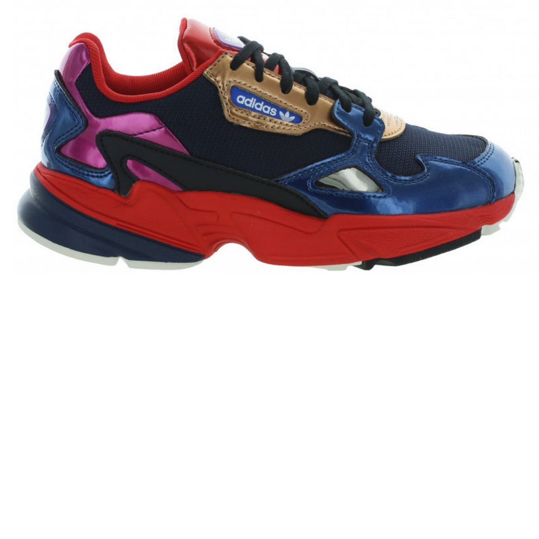 ADIDAS W FALCON - COLLEGIATE NAVY/RED