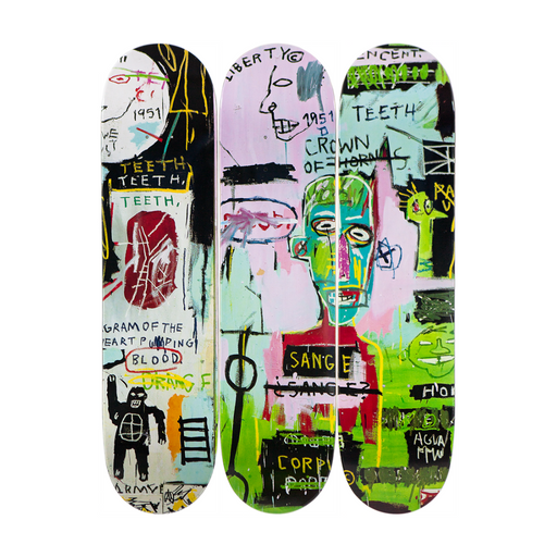 THE SKATEROOM JEAN MICHEL BASQUIAT IN ITALIAN