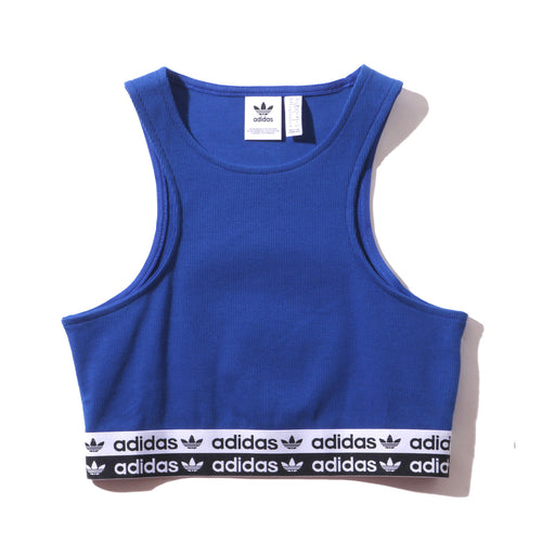 adidas wmn cropped top bra - collegiate royal