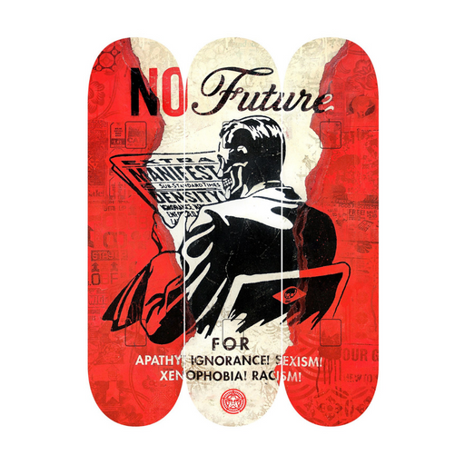 THE SKATEROOM SHEPARD FAIREY NO FUTURE