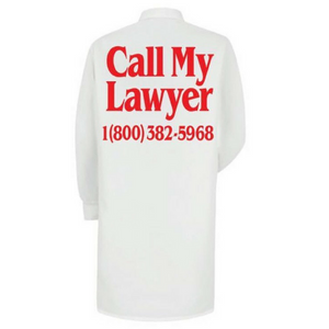 CHINATOWN LAWYER LAB COAT