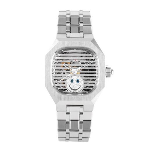 EYEFUNNY WATCH DIAMOND SMILEY - nous