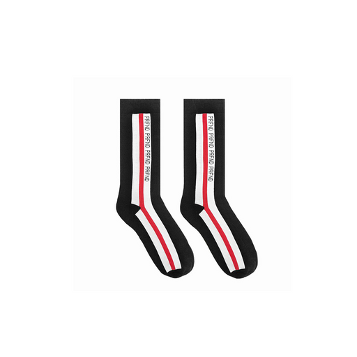PROFOUND AESTHETIC PRFND STRIPED SOCKS