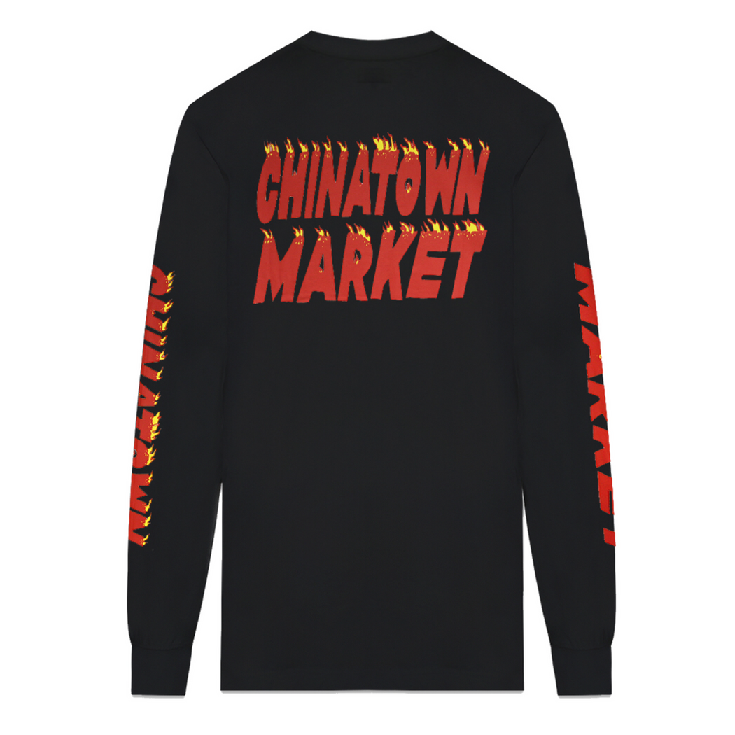CHINATOWN FLAMES LONG SLEEVE - nous